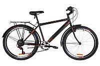 "Велосипед 26"" Discovery PRESTIGE MAN 2019 (черно-оранжевый хаки (м))"