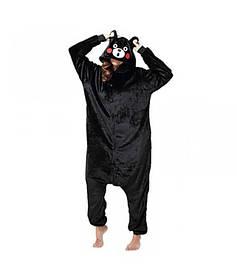 Кигуруми пижама женская панда черная