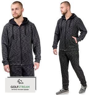 Мужской утепленный спортивный костюм 031