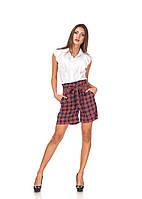 Женские стильные шорты с завышенной талией. Ш016, фото 1