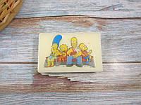 """Мыло с картинкой"""" Симпсоны"""""""