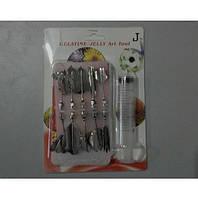 Шприц с насадками для желе.J Набор инструментов для создания рисунков 3 D.