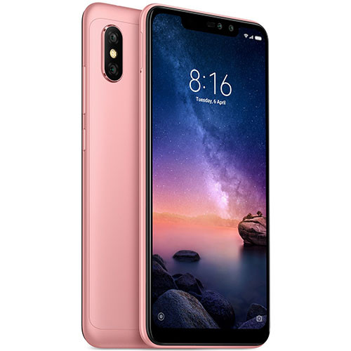 Смартфон Xiaomi Redmi Note 6 Pro 3/32Gb Rose Gold Global version (EU) 12 мес