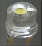 Светодиод 8мм белый (холодный) прозрачный 35Лм 120 градусов, фото 2