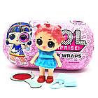 Кукла Лол капсула L.O.L. Surprise Under Wraps Eye Spy + LOL Black 7 Series чёрныйшар TOY021, фото 2