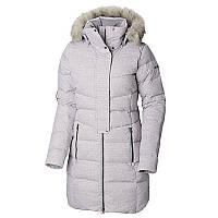 Куртка пуховая Columbia женская CRYSTAL CAVES™ MID JACKET светло-серая  1798571-444 и 1be052a55c6