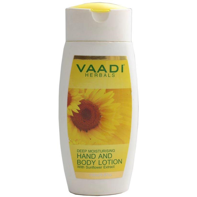 Лосьйон Vaadi Herbals для рук і тіла з екстрактом соняшника 110 г