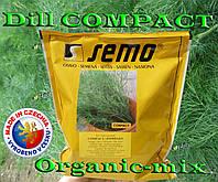 Укроп кустовой, жаростойкий КОМПАКТ / DILL COMPAСT, 500 г фермерский проф. пакет, SEMO (Чехия), фото 1