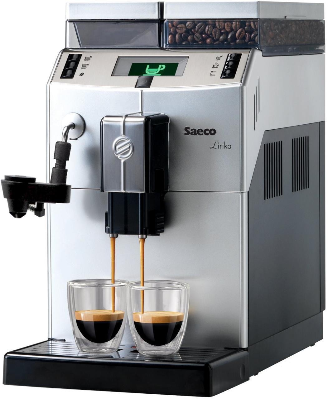 Автоматическая кофемашина Philips Saeco Lirika Plus silver RI 9841