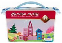 Магнитный конструктор MagPlayer 86 деталей (MPT-86)