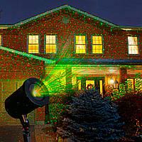Декоративный уличный лазерный проектор
