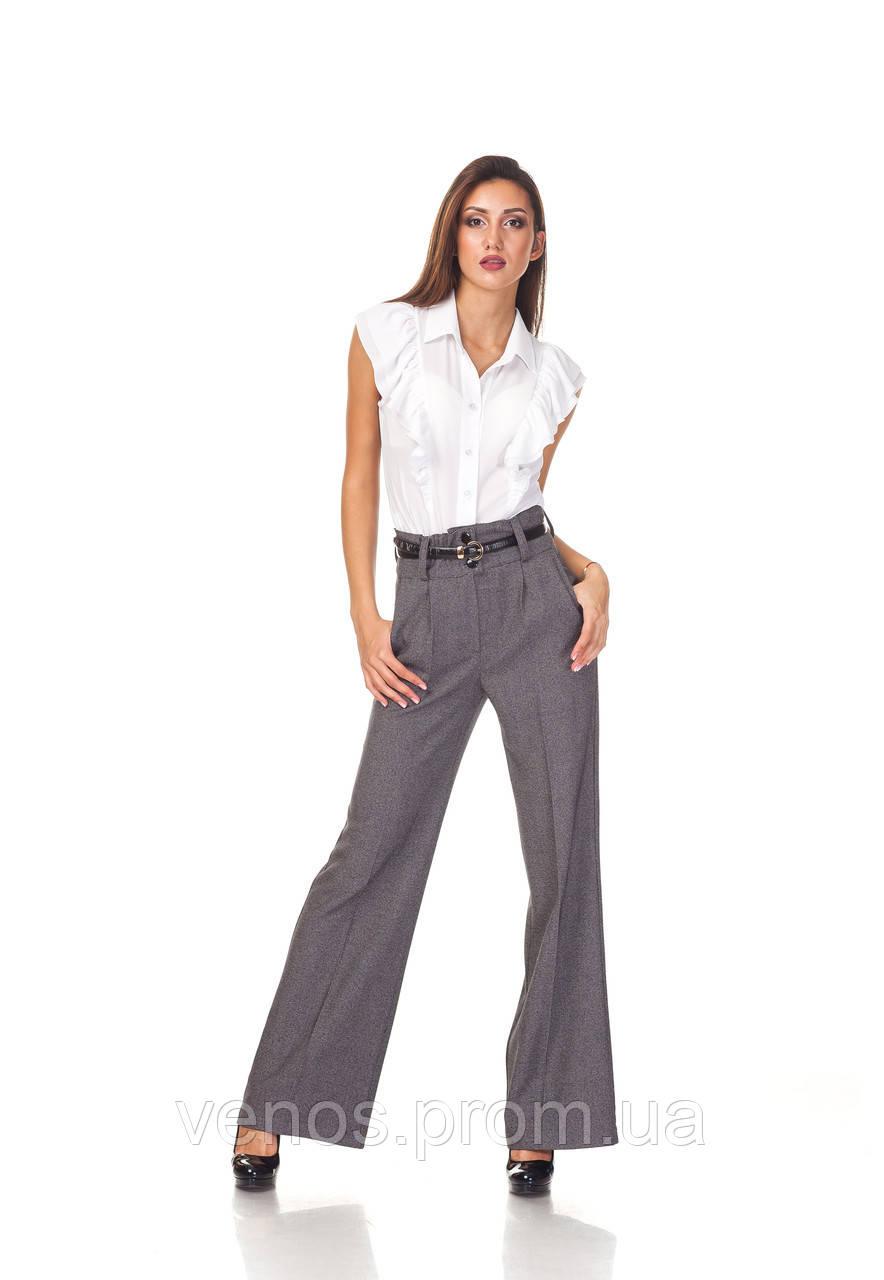 Женские брюки с завышенной талией. БР022