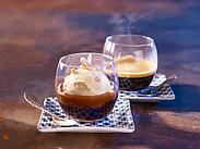 Десерт из арахиса и кофе