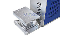 Портативный волоконный лазерный маркер JN-202 (100x100), 20W воздушное охлаждение, фото 2