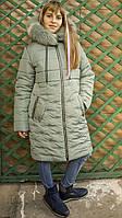 Стильная зимняя куртка для девочки подростка