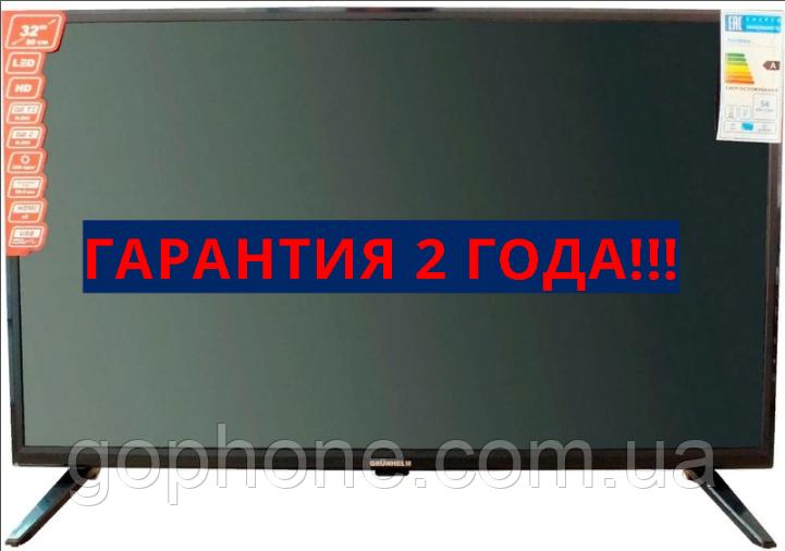 "Плазменный телевизор Grunhelm GTV32T2FS 32"" Smart TV+WiFi+DVB-T2+DVB-С+2 ГОДА ГАРАНТИЯ"