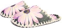 Женские фетровые тапочки 2-43 (размер 40/41)