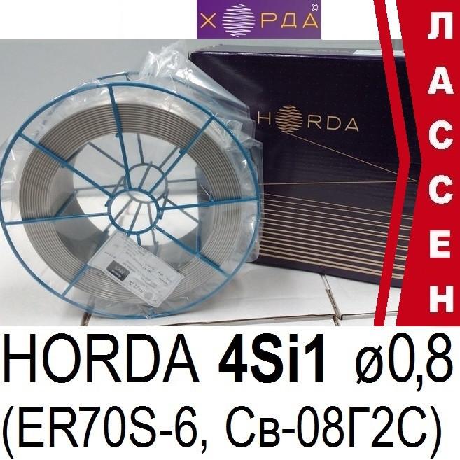 Проволока сварочная полированная Св-08Г2С (4Si1) ø0,8мм (5кг)