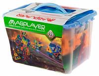 Магнитный конструктор MagPlayer 198 деталей (MPT-198)