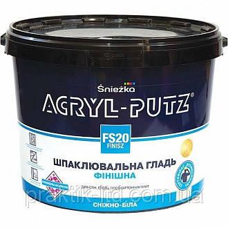 Шпаклівка Acryl-Putz (готова) 27 кг Sniezka