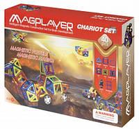 Магнитный конструктор MagPlayer 40 деталей (MPB-40)