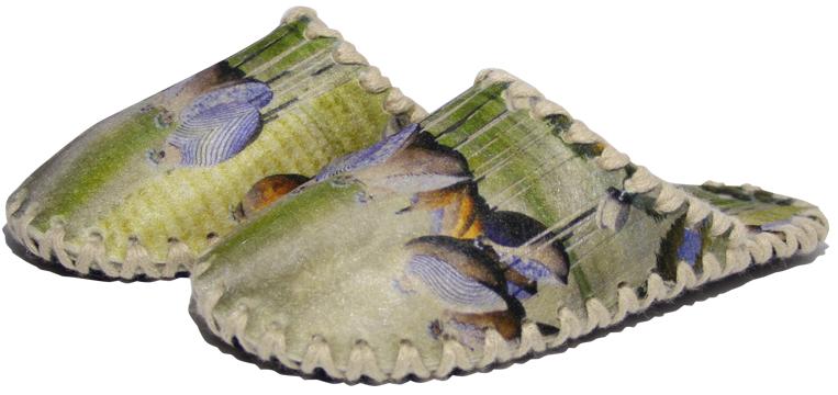 Женские фетровые тапочки 2-47 (размер 40/41)