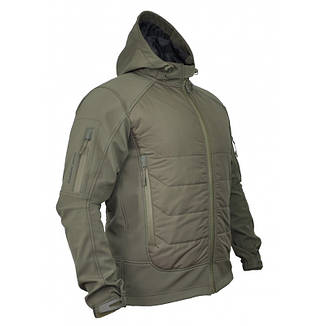 КУРТКА SOFT SHELL GLADIATOR OLIVE, фото 2
