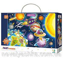 Пазл Космос Планеты Ракета Пазлы 100 эл. ДоДо DoDo 300141 009869