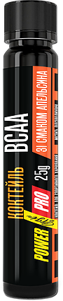 Шот Power Pro BCAA 25 мл (Апельсин), фото 2
