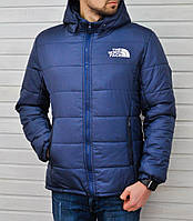 Куртка The North Face Windproof  темно-синяя