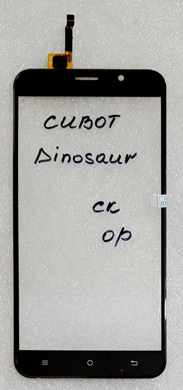 Сенсор (тачскрін) для Cubot Dinosaur  чорний
