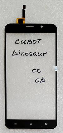 Сенсор (тачскрін) для Cubot Dinosaur  чорний, фото 2