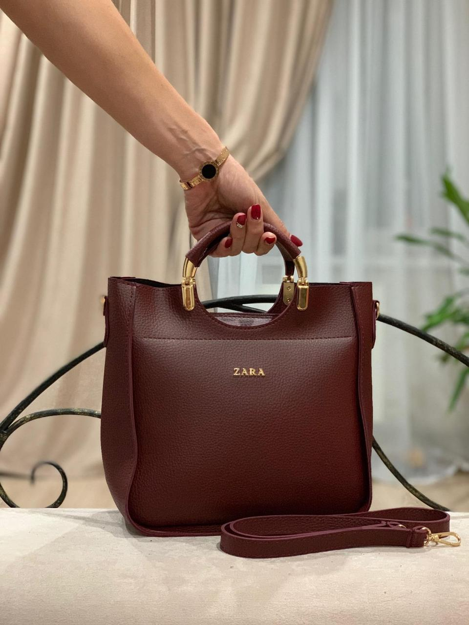 6300882147e9 Стильная женская сумка в стиле Zara -