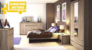 """Меблі в спальню """"Нортон"""" (дуб сонома)"""