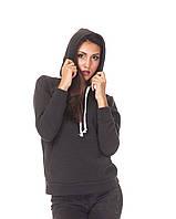 Женская толстовка оптом. К097_серый граффит, фото 1