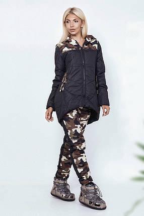 Зимний костюм с камуфляжными вставками, фото 2