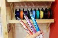 3D Ручка Myriwell-3 RP100С оригинал Пластик в подарок C LCD ДИСПЛЕЕМ Логотип серийный номер Оригинал розовая, Третее, Без дисплея