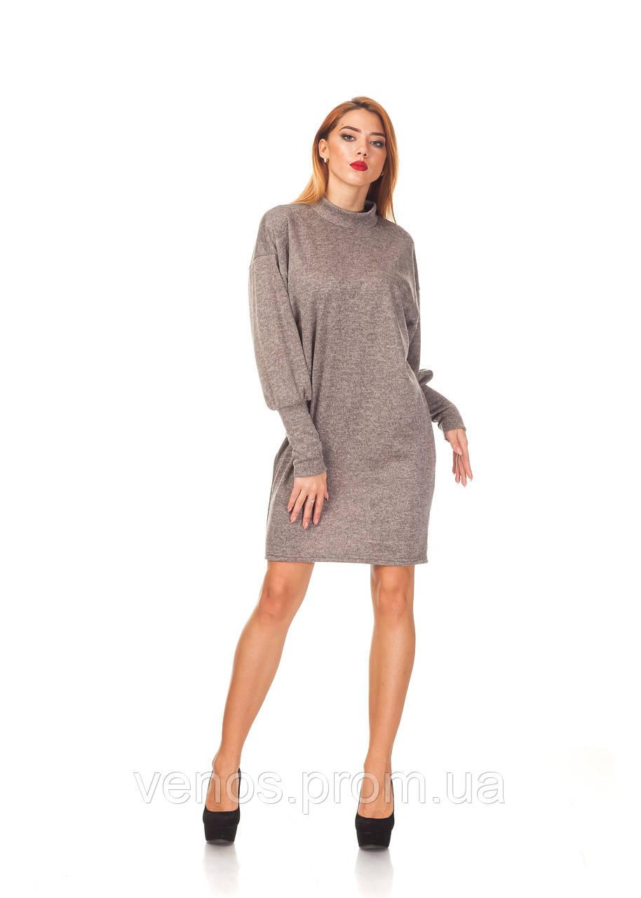 Женское платье свободного кроя. П093