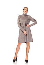 Женское платье гольф свободного кроя. П_099