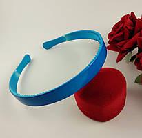 Обруч для волос пластиковый (ширина 13 мм) Синий
