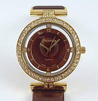 Часы наручные Guardo 009138-A золото с коричневым