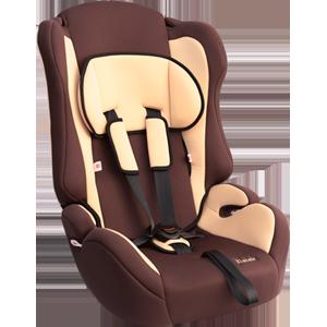 """Детское автомобильное кресло ZLATEK """"ATLANTIC"""" коричневый,1-12 ЛЕТ, 9-36 КГ, группа 1/2/3"""