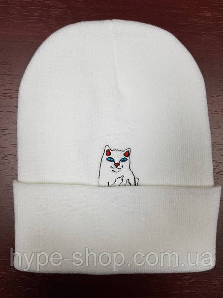 Зимняя шапка в стиле RipNDip | Топ качество!