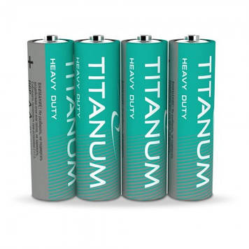 Батарейка солевая Titanum R6P/AA 4pcs SHRINK