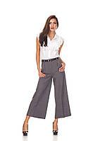 Женские брюки-кюлоты оптом. КЮЛ001_клетка костюмка, фото 1