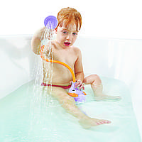 Игрушка-душ для ванной Yookidoo Слоник голубой фиолетовый