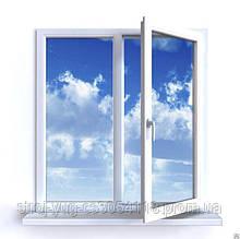 Окна металлопластиковые BROKELMAN 4-х камерный 1,30х1,40 полная комплектация с монтажем