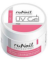 Гель для наращивания ногтей Runail Professional Розовый 15 мл