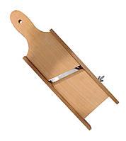 Ручная деревянная шинковка с одним лезвием