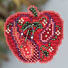 Набор для вышивки  Mill Hill Jeweled Apple (2013)